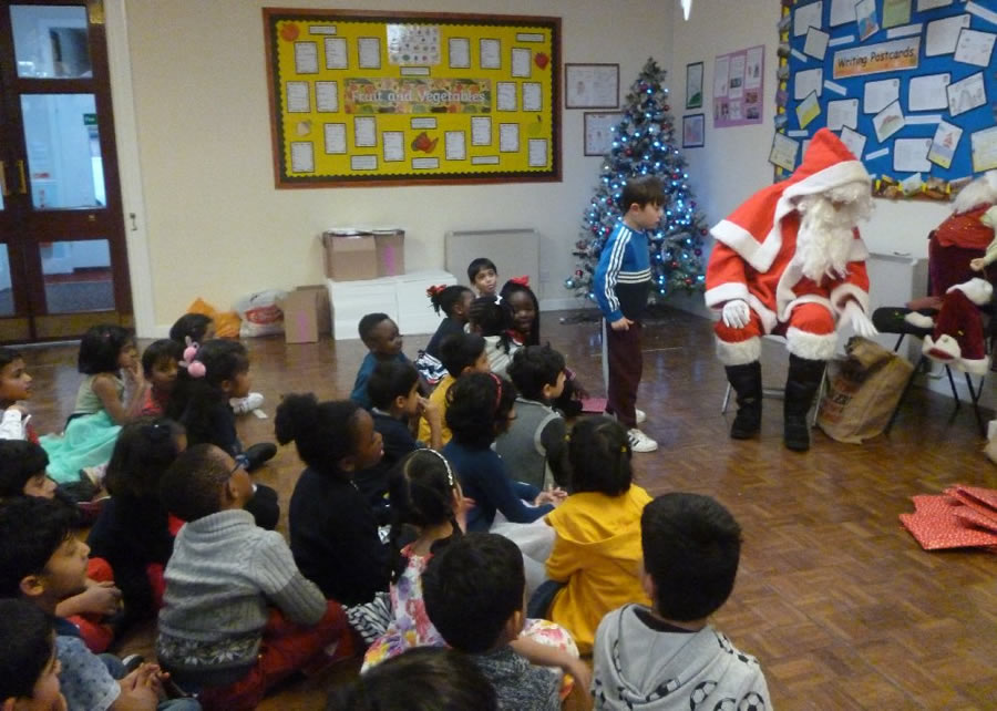 Year 1 Father Christmas