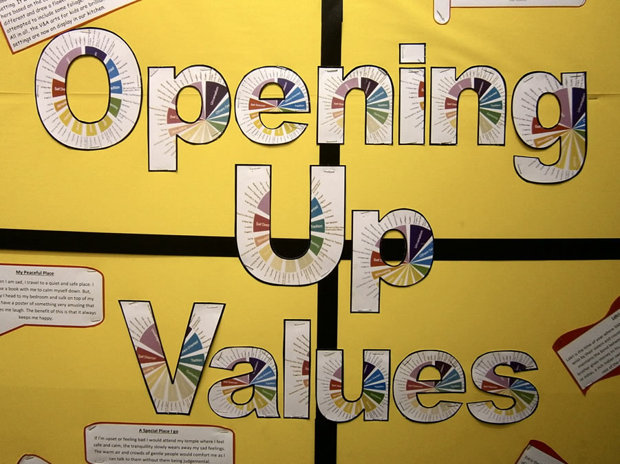 Opening Up Values