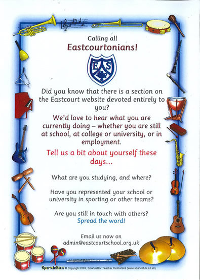 Calling all Eastcourtians!