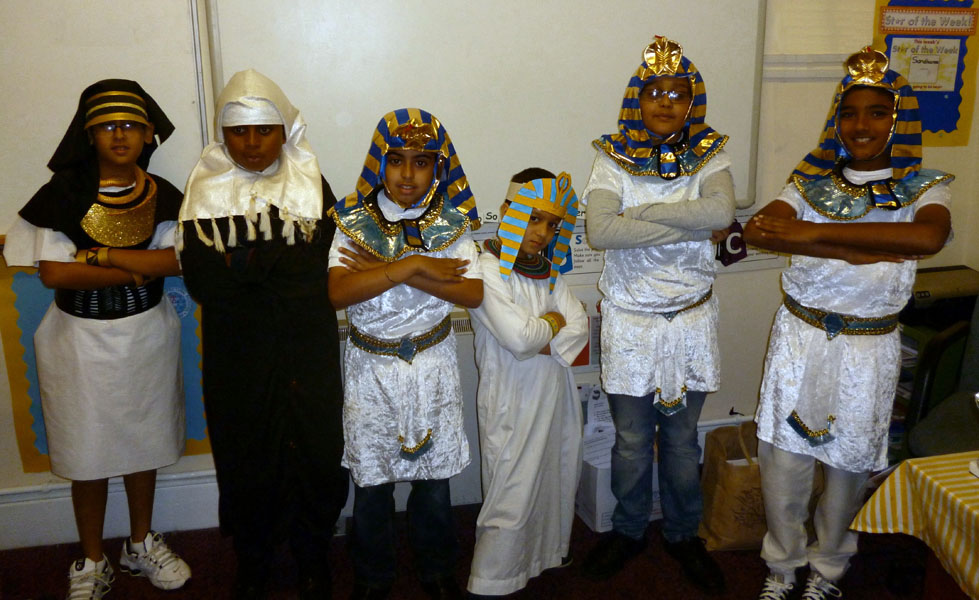 Year 5 are Egyptian